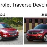 Chevrolet Traverse Front End Goes Plain Jane